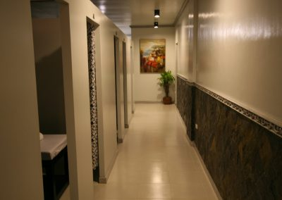 Massage Room Hallway