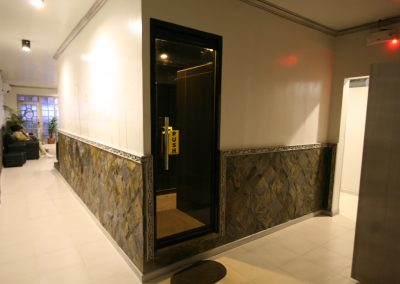 Steam Room Entrance
